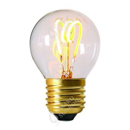 """Ampoule sphérique """"Loops"""" G45 LED 2W E27 2200k 110lm Claire"""