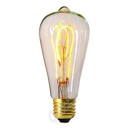 """Ampoule Edison """"Loops"""" LED 5W 2200k 300lm Claire"""