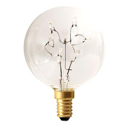 Sphérique G60 LED 1,5W 24V E12 Cl.