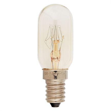 Lampe Tube Machine à Coudre Incan. 25W E14 2750K 130Lm Claire