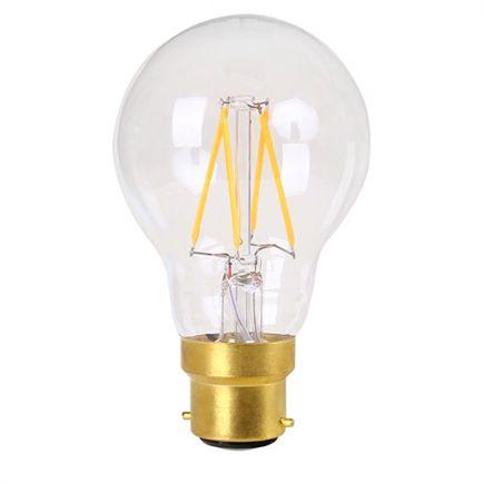 Standard Filament LED 4W 240V B22 2700K Claire