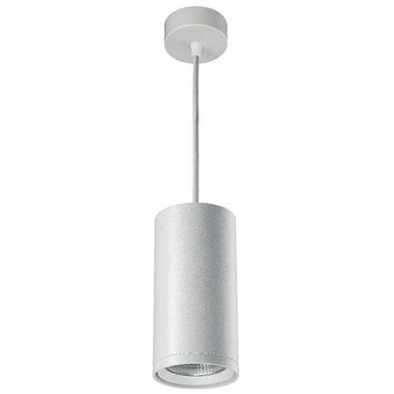 Atlas - Spot suspendu LED Ø99x2500 20W 3000K 2000lm 24° blanc