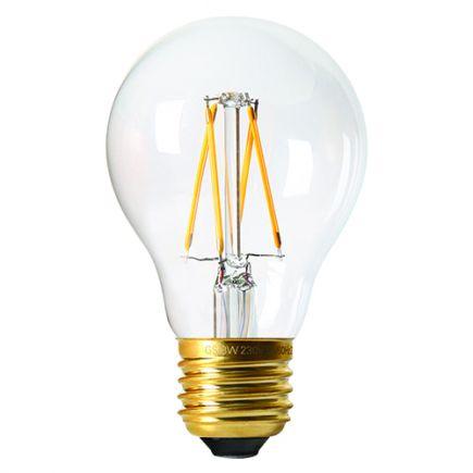 Standard Filament LED E27 8W 806Lm 2700K 360° Claire 25000H
