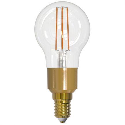 Sphérique G45 Filament LED 6W E14 2700K 806lm Dim. Clear