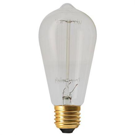 Edison Filament Métallique Droit 24W E27 2200K Cl. 3125460249930