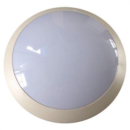 FS Lenie - EcoWatts - Plafonnier IP 66 Ø300x100 E27 18W max blanc