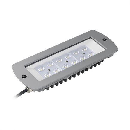 Sponde - Module LED 261x102x45 60W 3000K 6025lm 120° argent