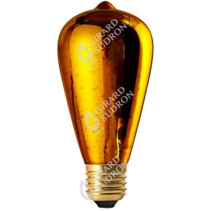 Edison LED Cosmos 3D 4W E27 non Dim. - Or