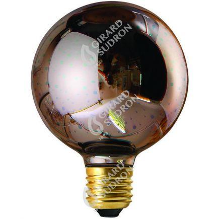 Globe G80 LED Cosmos 3D 4W E27 non Dim. - Argent