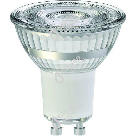 Spot LED 5,5W GU10 2700K 345Lm 36° dim Cl. dichroïque