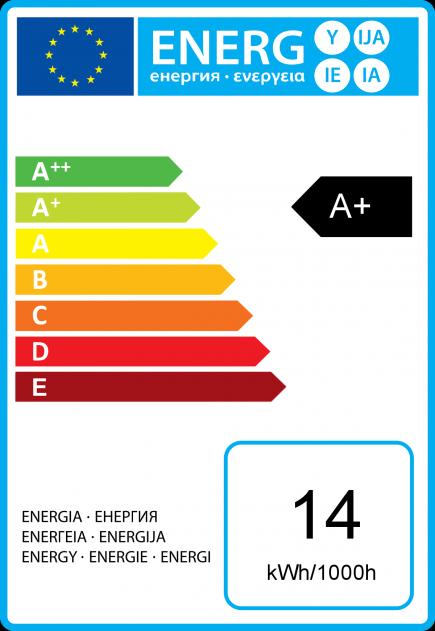 FS Standard A72 LED 330° 14W B22 2700K 1250Lm Dim.