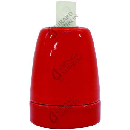 Douille Céramique E27 Rouge EAN 3125461875411