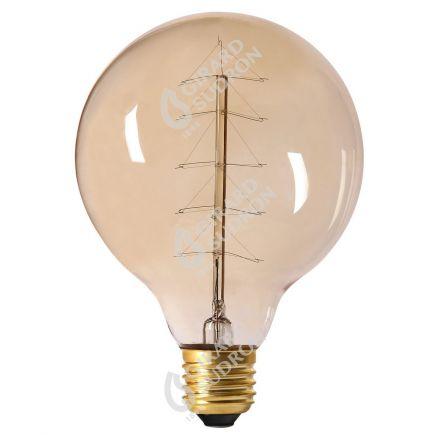 Globe Filament Métallique Sapin 24W E27 2000K Ambre