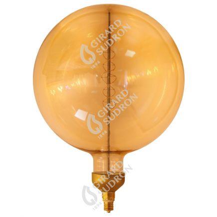 Globe G600 Filament LED TWISTED 8W E40 2000K 400Lm Dim. Amb.