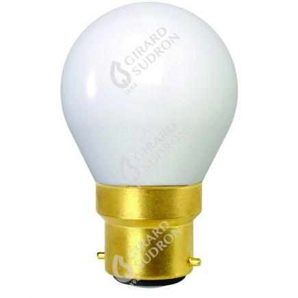 Sphérique G45 Filament LED 4W B22 2700K 400Lm Opaline