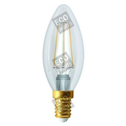 FS Ecowatts - Flamme C35 Filament LED 4W E14 4000K 420Lm Cl. 3125469986805
