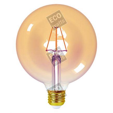 FS EcoWatts - Globe G125 4W E27 2200K 320lm Dim. Amb 3125469986836