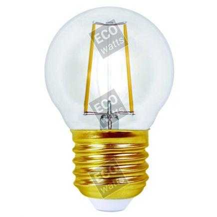 FS Ecowatts - Sphérique G45 Filament LED 4W E27 4000K 420Lm Cl. 3125469986867