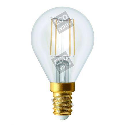 FS Ecowatts - Sphérique G45 Filament LED 4W E14 4000K 420Lm Cl. 3125469986874