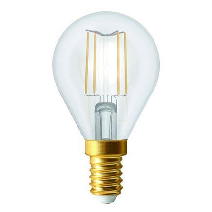 Ecowatts- Sphérique LED 4W E14 2700K 420lm Claire