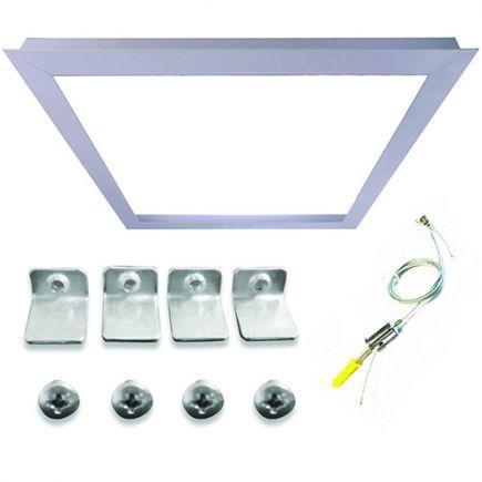 Cadre d'intégration pour Dalle LED 600x600 Acessoires de suspension inclus