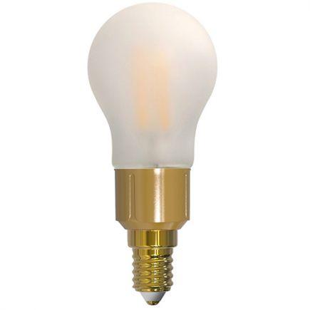 Sphérique G45 Filament LED 6W E14 2700K 780lm Dim. Mat