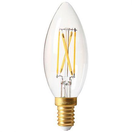 Flamme C35 Filament LED 5W 2700K 610lm E14 Claire