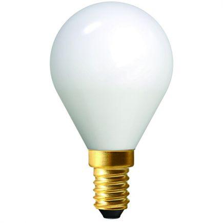 OPALINE Sphérique G45 filament LED 4W E14 2700K 400Lm