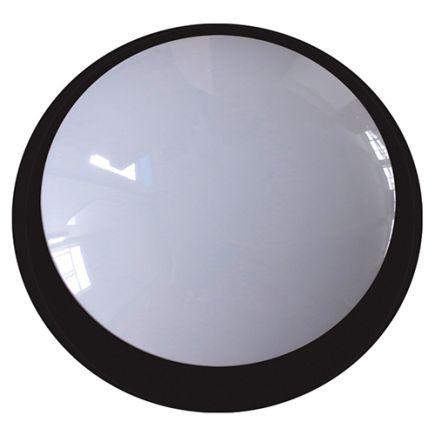 FS Lenie - EcoWatts - Plafonnier LED IP 66 Ø355x118 20W 4000K 1800lm 160° noir