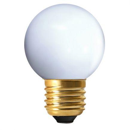 Sphérique LED 1W E27 4000k 50lm IP44 Blanc