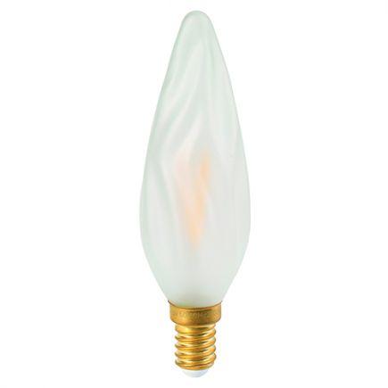 FS FRANCE - Flamme GS8 Filament LED 3W E14 2700k Satinée - Remplacée par 713626