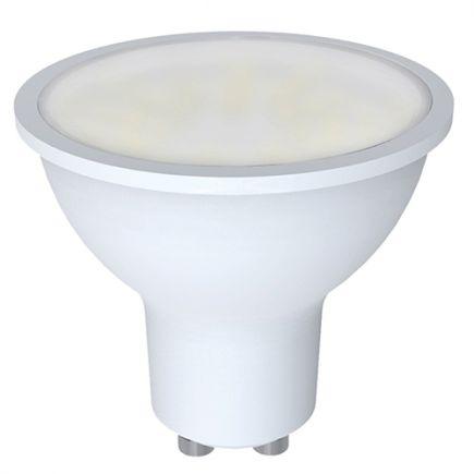 FS ***PRIX DESTOCKAGE*** Ecowatts - Spot  LED 270° 5W GU10 3000K 400Lm White box with legal notice