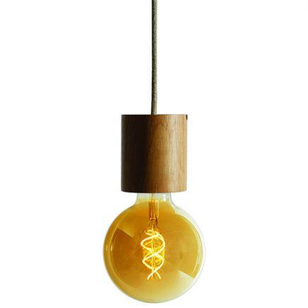 Kit luminaire bois à poser ou à suspendre