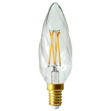 Candle F6 Filament LED 5W E12 2700K 520Lm Dim. Cl.