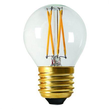 Sphérique G45 Filament LED 4W E27 4000K 380Lm Dim. Cl.