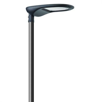 Aurora - Lanterne LED 140W 3000K 14500lm  IP66 45-135° gris foncé