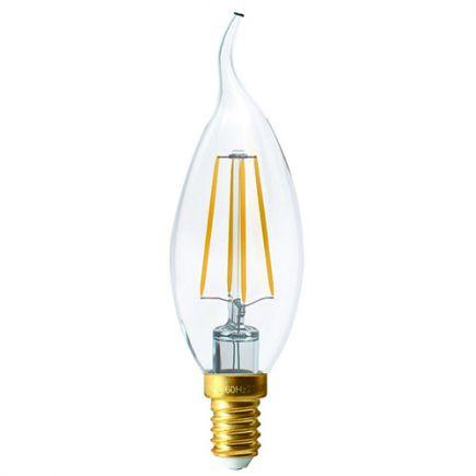 FS Ecowatts - Flamme CDV Filament LED 4W E14 Claire 2700K blister 3125469986669