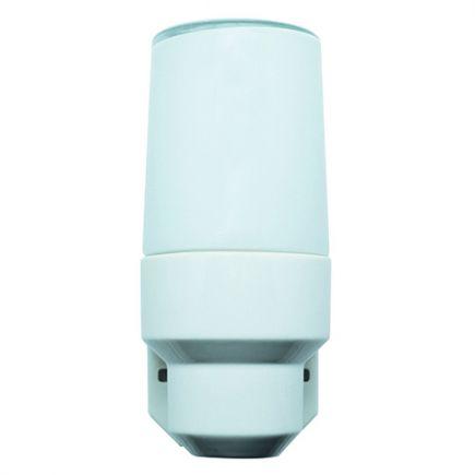 PORCELAINE VINTAGE Applique E14  Verrerie opaline Blanc