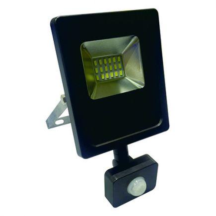 Isonoe - Projecteur LED IP65 115x41x138 10W 3000K 800lm 120° Noir