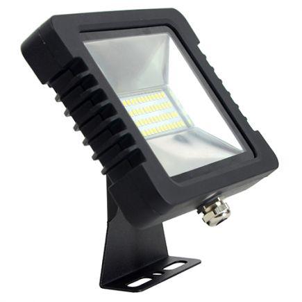 Yonna - Projecteur LED IP65 118x87.5x27.5 10W 4000K 760lm 110° noir