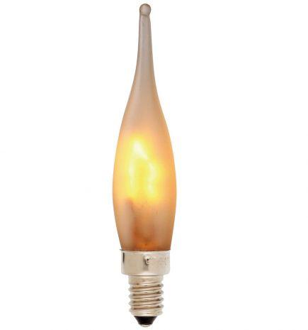 Flamme Grand Siècle GS 7W 230V E10 Mate